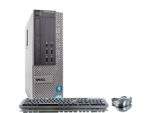 Dell Optiplex 790 Intel i5 3100 MHz 250Gig HDD 4096mb DVD ROM Windows 7 Professional 32 Bit Desktop Computer