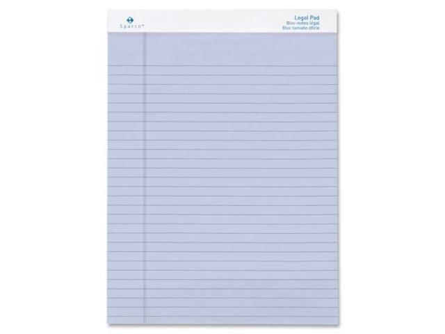 Sparco Orchid Legal Ruled Pad
