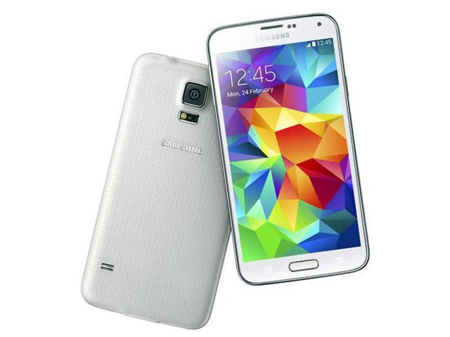 Samsung Galaxy S5 Duos SM-G900FD 16GB Dual Sim White (FACTORY UNLOCKED) 5.1