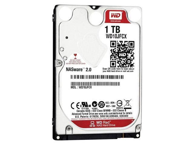 WD Red 1 TB Internal HD - SATA - 2.7