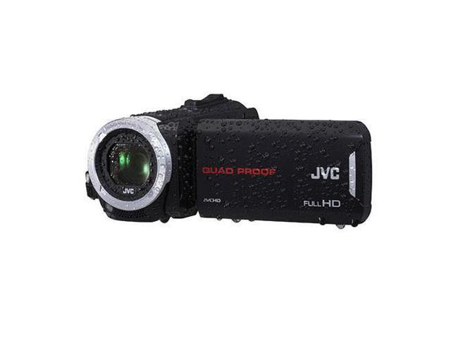 JVC GZ-R70 Quad-Proof 32GB Flash Full HD Camcorder, Black