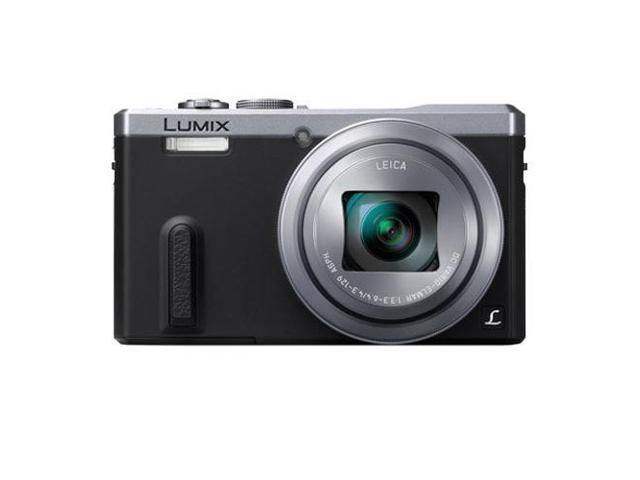 Panasonic LUMIX ZS40 DMC-ZS40S Silver 18.1MP 30X Optical Zoom Digital Camera