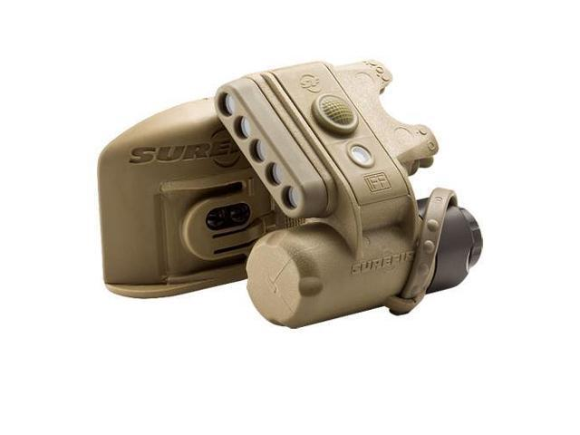 SureFire HL1-B-TN Helmet Light, with White & Infrared LEDs, Color: Coyote Tan