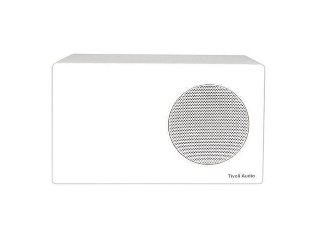 Tivoli Albergo Stereo Speaker for Radio with RCA Connection, White #ALBSWHT