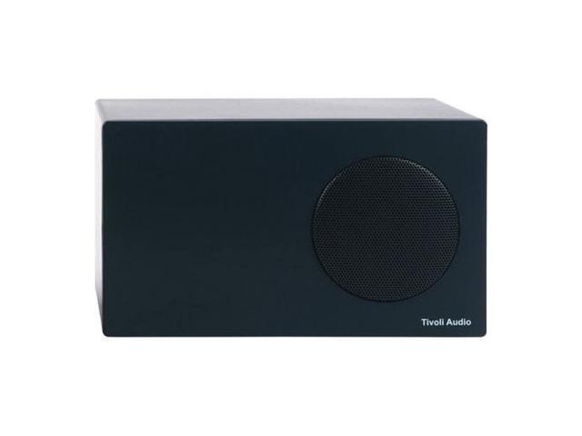 Tivoli Albergo Stereo Speaker for Radio with RCA Connection, Graphite #ALBSGRT