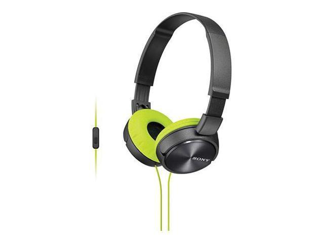 Sony ZX MDRZX310AP Stereo Headset, Yellow #MDRZX310AP/H