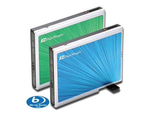 EZDigiMagic DM110-BD External Slim Type Blu-Ray Burner for PC