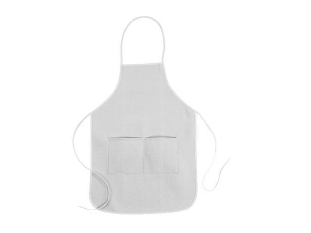 Alvin Heritage Natural Canvas Aprons, Standard 23.5 x 24.5 Inches - White