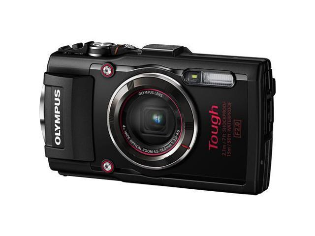 Olympus TG-4 Black 16 MP Waterproof Di