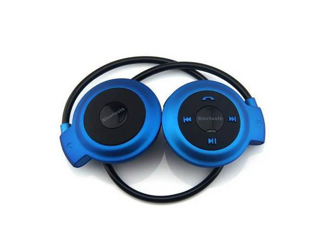 COOLEAD- Universal Charm Blue Sport Foldable Bluetooth Stereo Headset Wireless Headphones Headbrand for iPhone 4 5 6 iPad Air mini Samsung Note 2 ...