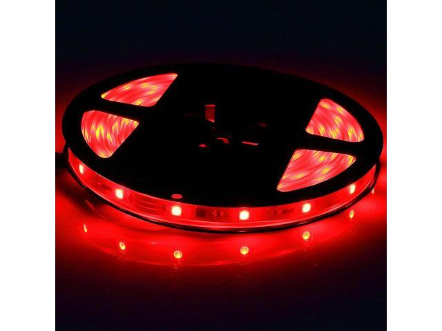 Brand New 5 Meters 16.4 Feets 300 LEDs Red Flexible SMD 5050 LED Strip Light IP65 Waterproof Indoor Outdoor Decoration Lighting (no power supply ...