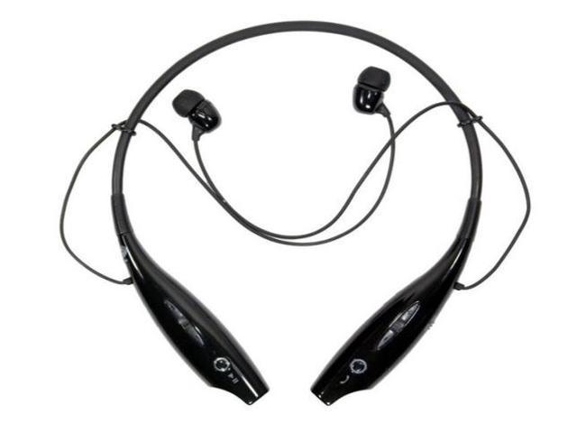 LG Tone HBS730 Black Silver Universal Wireless Bluetooth Handsfree Headset