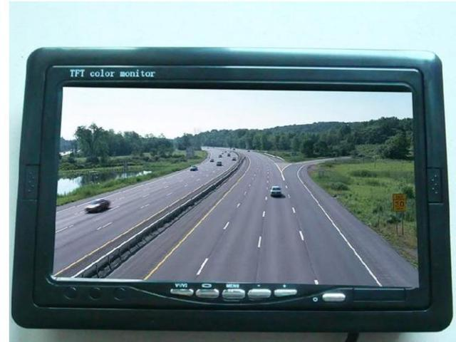 7inch Car Monitor FPV Aerial Photography LCD TFT HD 800x480 Screen Monitor Neuf