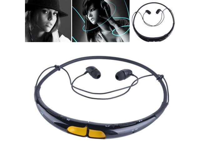 Wireless Bluetooth Handsfree Headset For iphone Samsung LG Earphone HBS-740
