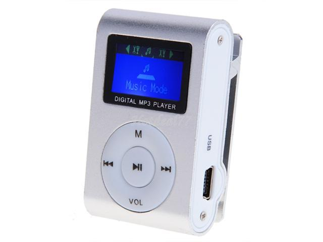 2014 New Hot Sale Mini Portable Support 1-8GB Micro SD TF Clip Metal USB MP3 Music Media Player + Headphone