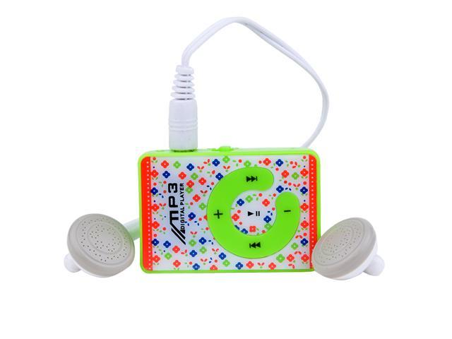 Hot Vogue Micro SD TF Fashion Mini Clip USB MP3 Music Media Player 1-8GB Support with earphone