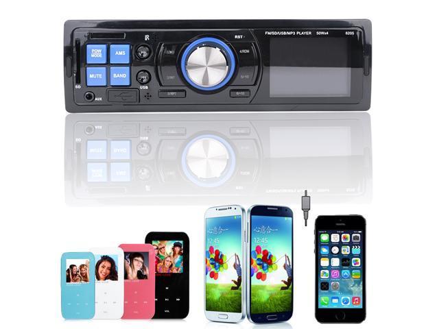Car Audio Stereo In-Dash MP3 Player Radio FM USB AUX input Receiver USA