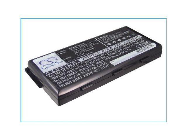Battery Laptop MSI A5000, MSI A6000, A6005, MSI A6200, A7200, CR500, CR600, CR60, Li-ionx6, 6600 mAh
