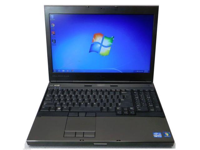 Dell Precision M4600 15.6in Laptop Workstation Intel i7 2820QM True Quad Core Nvidia Quadro 1000 1920 x 1080p 4 Gigs Ram Windows 7 Pro 64 ...