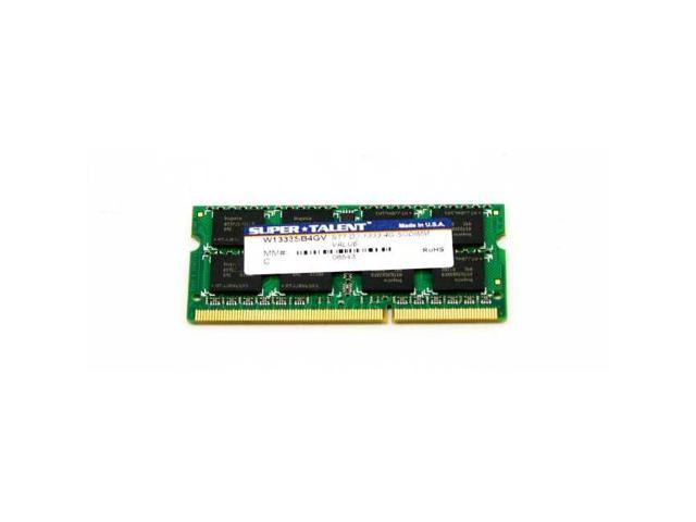 Super Talent DDR3-1333 SODIMM 4GB Notebook Memory