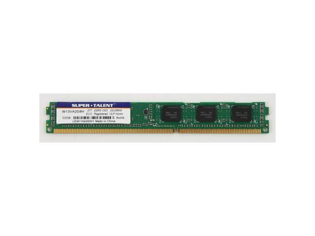 Super Talent DDR3-1333 2GB/256Mx8 ECC/REG Hynix Chip VLP Server Memory