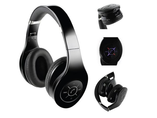 Wireless DJ Headphones with Hands-Free Calling
