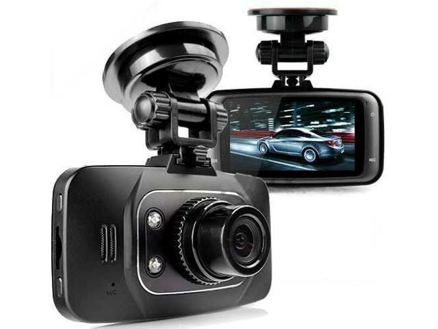 Portable 1080p Vehicle Windshield & Dashboard Night Vision Camcorder