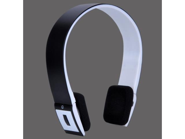 Wireless Bluetooth Headphones with Mic - WHITE Stereo Audio Headset - New in Box