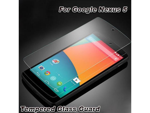 Premium 2.5D Tempered Glass Screen Protective Film 0.33mm for Nexus 5