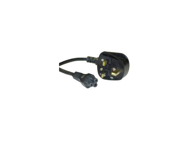 England / UK Power Cord for NoteBook, Polarized, with Fuse, 6 ft