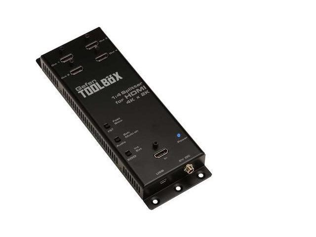 1:4 HDMI SPLITTER W ULTRA HD; 4K AND 2K
