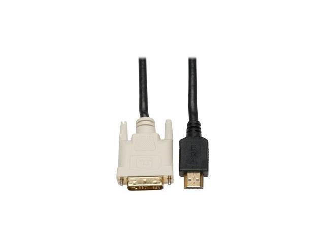Tripp Lite Gold video cable - HDMI / DVI - 50 ft