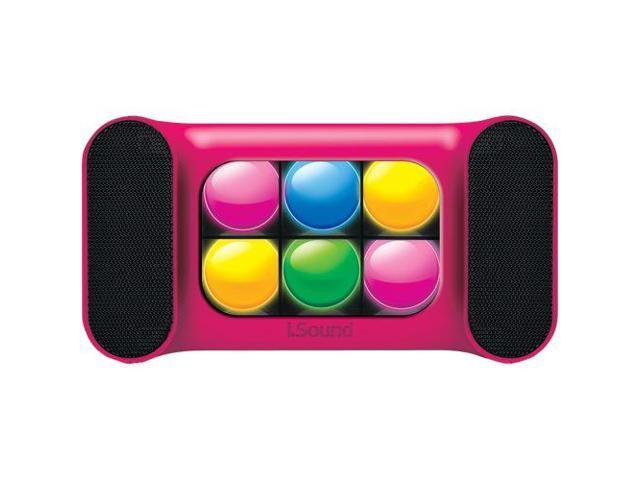 ISOUND ISOUND-5492 Mini Bluetooth(R) Speaker (Pink)