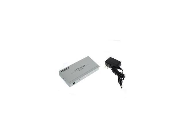 HDMI Splitter, 1x4, 4 Way, Metal Housing