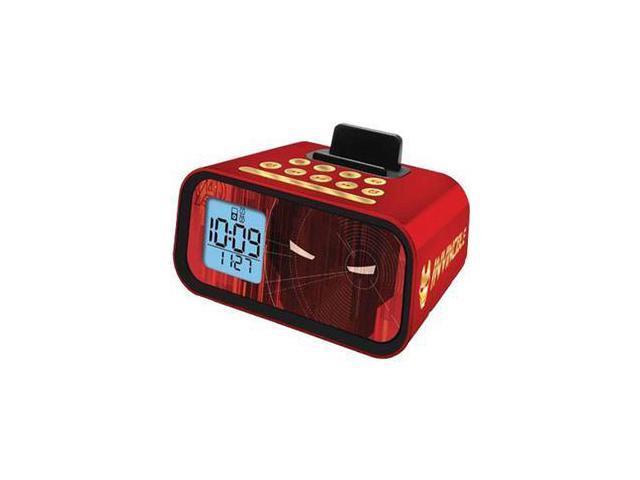 Iron Man iPod Alarm Clock Spkr