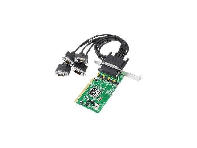 SIIG Dual Profile Quartet Serial 550 PCI - serial adapter