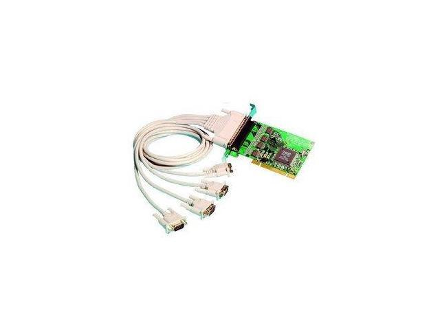 Brainboxes 4 Port RS-232 Universal Multiport Serial Adapter