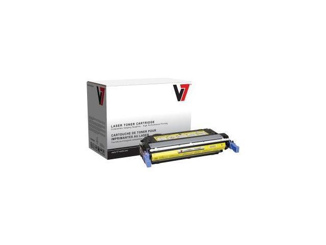 V7 Yellow Toner Cartridge for HP Color LaserJet