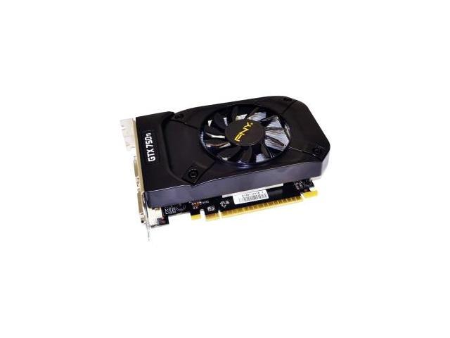 PNY GeForce GTX 750 Ti Graphic Card - 1202 MHz Core - 2 GB GDDR5 SDRAM - PCI Express 3.0 x16