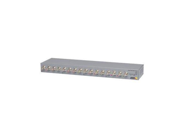 AXIS P7216 Video Encoder - video server - 16 channels
