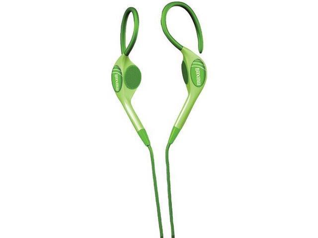 MAXELL 190564 - EH130G Stereo Ear-Clip Headphones (Green)