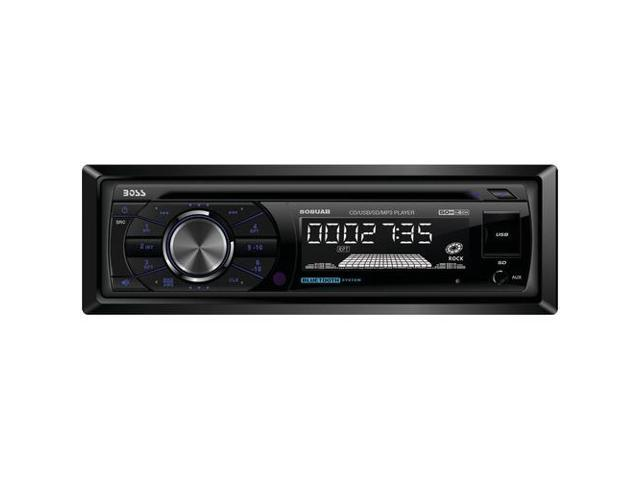 BOSS AUDIO 508UAB Single DIN MP3 Compatible CD & AM/FM Receiver