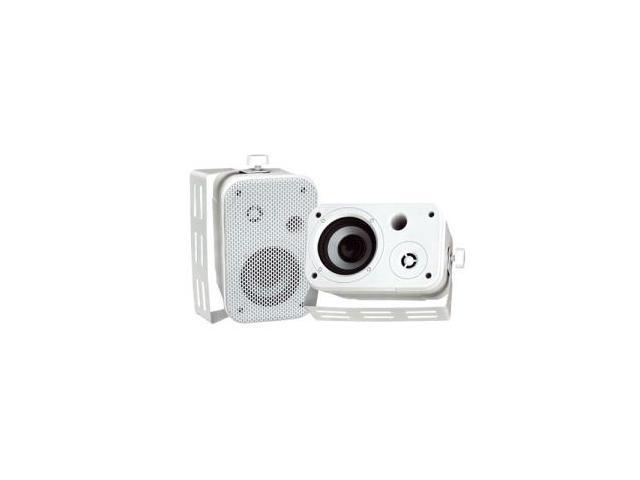 Pyle PylePro PDWR30W Indoor/Outdoor Speaker - 2-way - White