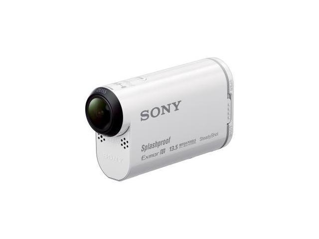 Sony HDR-AS100V Digital Camcorder - Exmor R CMOS - Full HD - White