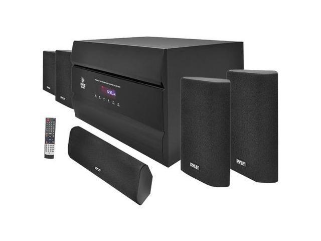 PYLE PT628A 400W 5.1 Channel Home Theater System with AM/FM Tuner, CD, DVD & MP3 Player Compatible