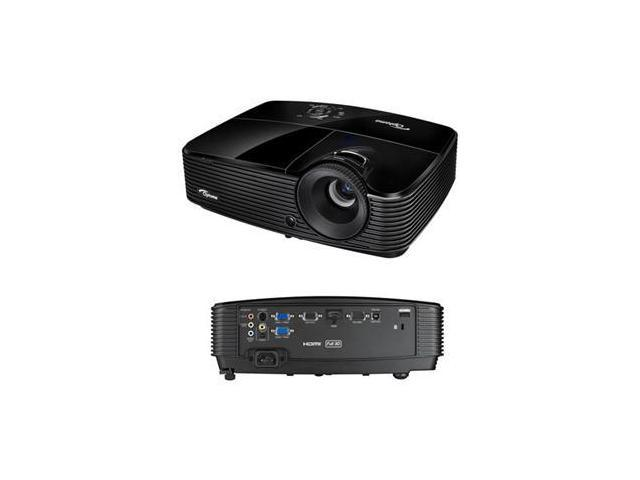 Optoma X313 Full 3D XGA 3000 Lumen DLP Data Projector with Full Digital and Analog Connectivity