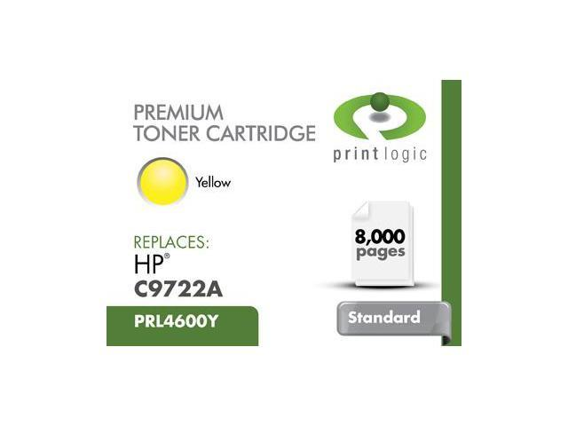 Printlogic Printlogic C9722a Yellow Cartridge