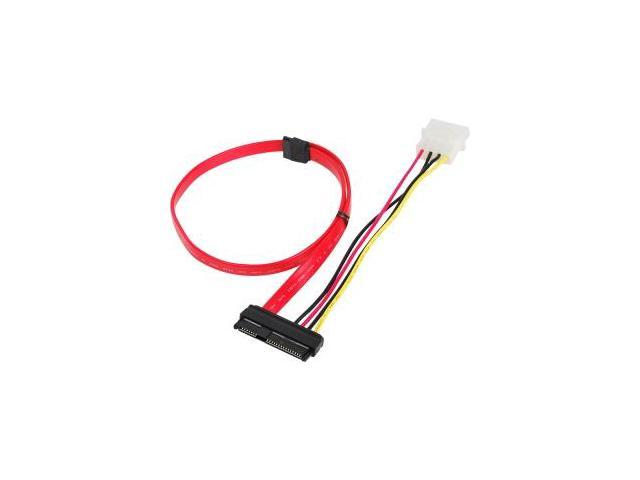 SIIG SFF-8482 to SATA Cable with LP4 Power - Serial ATA cable - 1 ...