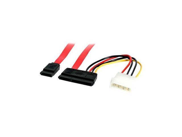 StarTech.com SATA Serial ATA Data and Power Combo Cable - Serial ...