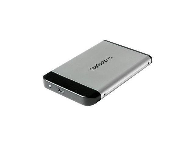 StarTech.com 2.5in Silver USB 2.0 to IDE External Hard Drive Encl ...